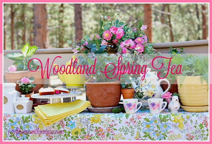 Spring Nesting Blog Hop | Afternoon Tea