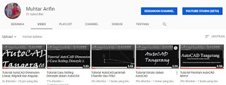 Chanel Youtube AutoCAD Tangerang.