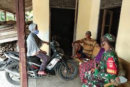 Kodim Sragen - Komsos Sarana Silaturahmi Antara Babinsa Dengan Kader Posyandu