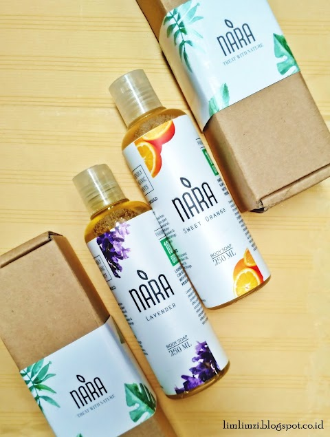 [REVIEW] Nara Body Soap (Sweet Orange and Lavender)