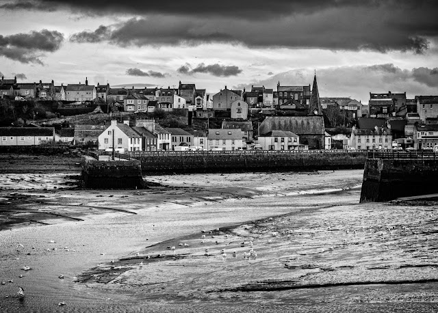 A mono version of one of my photos of Maryport