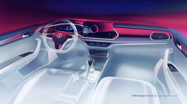 Novo VW Polo Sedan 2021