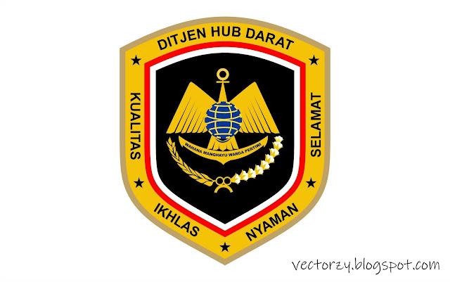 Logo Ditjen Hub Darat Vector Coreldraw CDR
