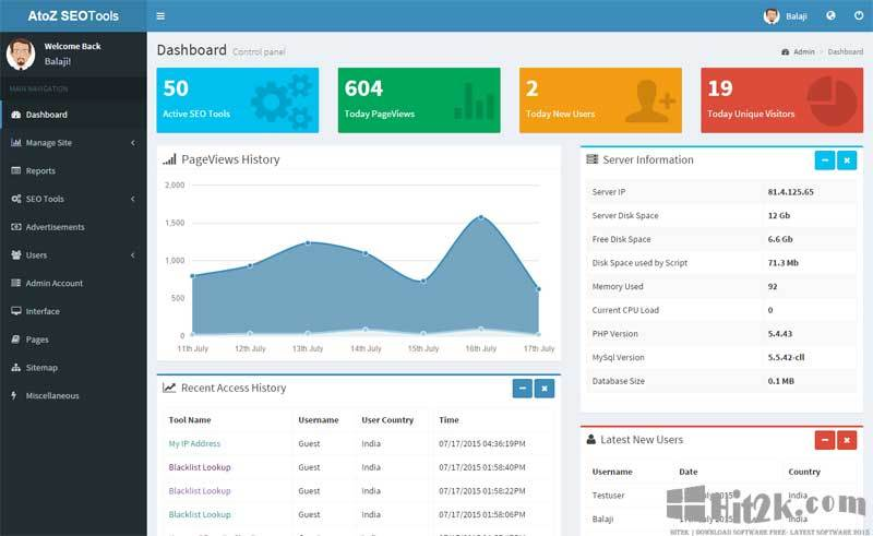 AtoZ SEO Tools 1.4 Search Engine Optimization Tools