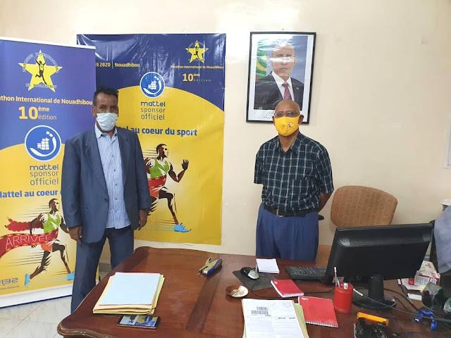 Marathon international de Nouadhibou Mr. Haidara