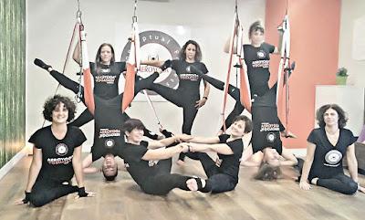 air yoga cursos