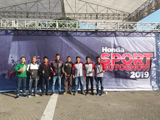 KAMI ADA DI HONDA SPORT  MOTOSHOW 2019