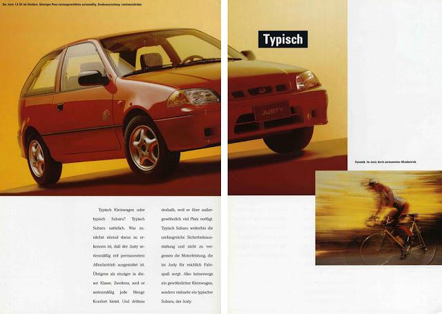 Subaru Justy II, 1996-2001, 4WD