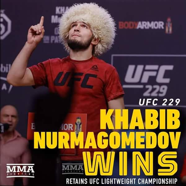 Khabib 'the Eagle' Nurmagomedov