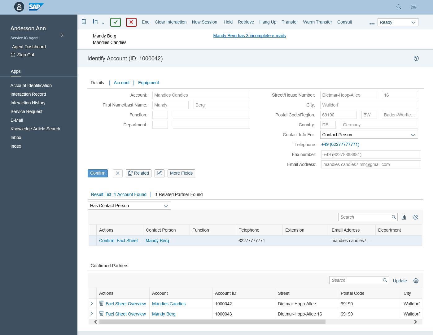 Sap S 4 Hana For Customer Management First Release Acorel