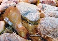 Pollastre amb Gambes, Cuina casolana, l'essència de la cuina, blog de cuina de la sonia, Mar i Muntanya