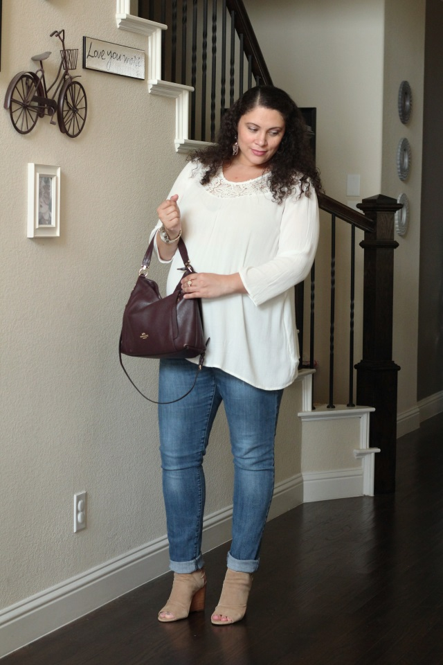 Easy Fall Maternity Outfit