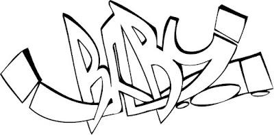 graffiti bilder zum nachmalen anfänger, coole graffiti bilder zum nachmalen, abzeichnen, nachzeichnen, ausdrucken