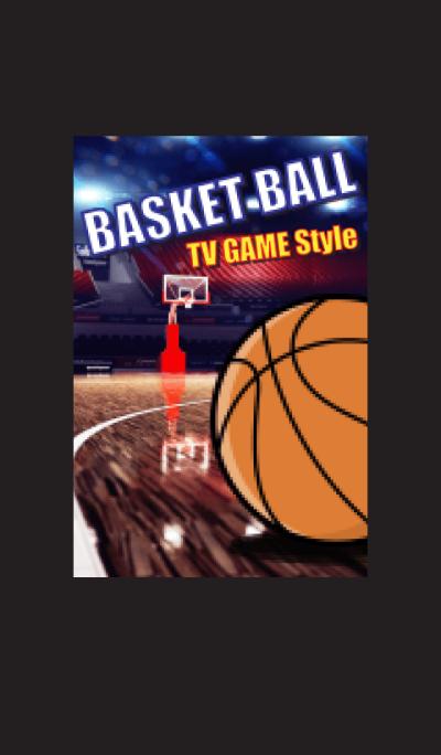 TV GAME style (BASKET BALL)