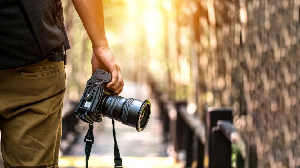 A profi fotók készítése nem egyszerű feladat.