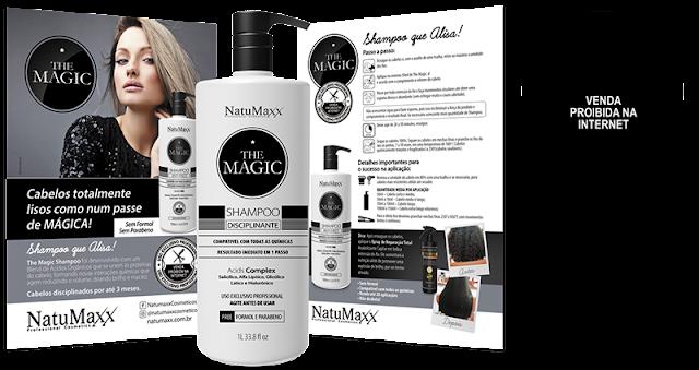 Lançamento Shampoo Que Alisa Natumaxx