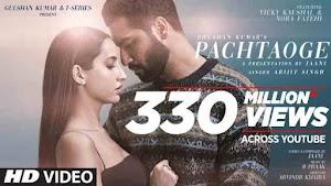 Pachtaoge lyrics English Hindi Arijit Singh