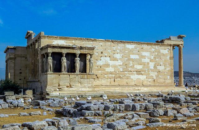 Caríatides, estátuas da Acrópole de Atenas