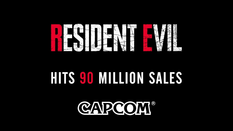resident evil 90 million sales capcom record