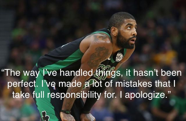 8639850d67d Kyrie Irving apologizes for mistakes he s made handling things this season