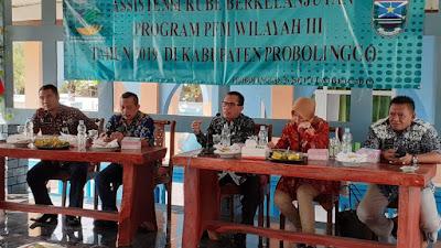 Kepala Dinas Sosial Kabupaten Probolinggo Buka Asistensi KUBE