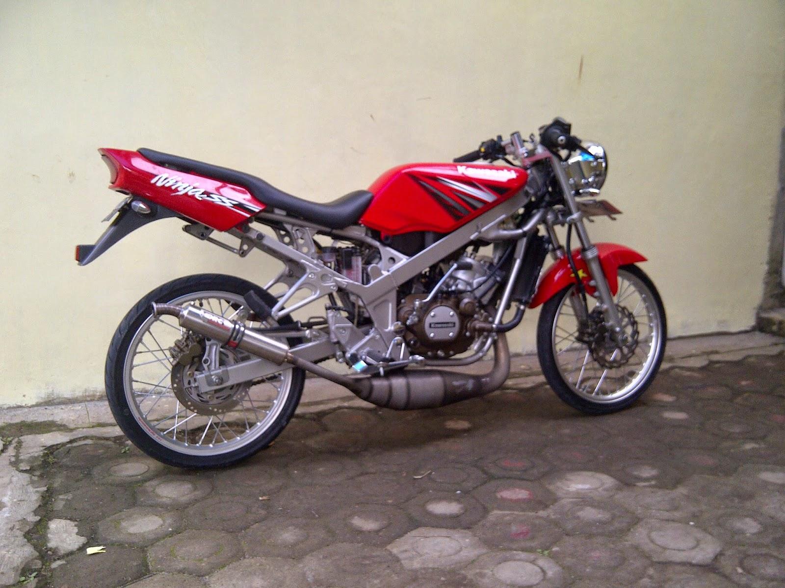 Download Kumpulan 55 Gambar Modifikasi Motor Ninja R Warna Hijau