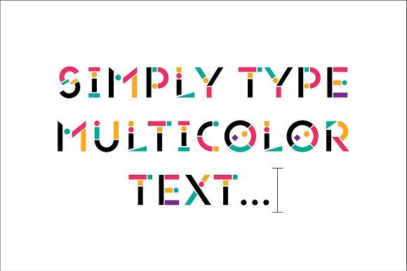 Tính năng mới của Adobe illustrator với Font chữ đầy màu sắc