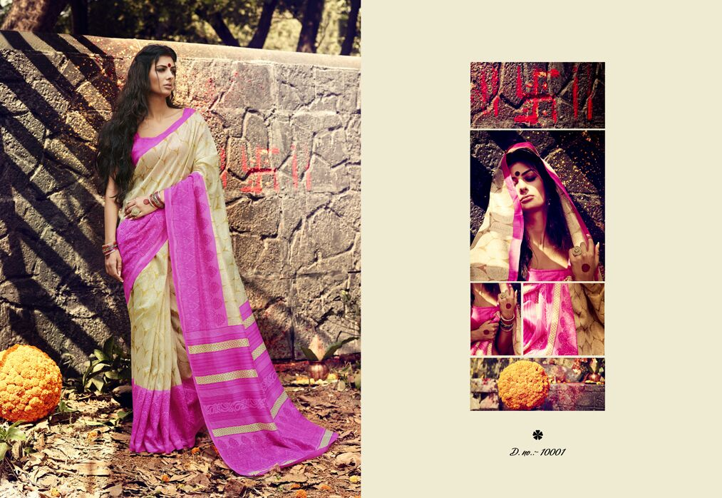 Varansi Vol 6-Latest Fashion Silk With Fancy designer Saree
