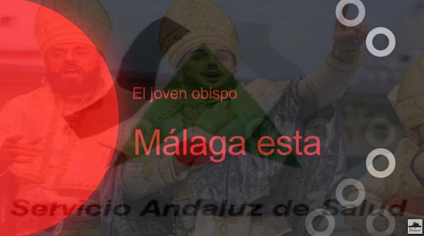 """Pasodoble con LETRA """"Malaga esta"""" Comparsa """"OBDC El joven obispo"""" (2018) de German Rendon"""