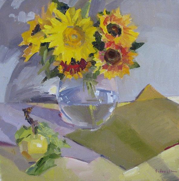 Sedwick Studio Purple Bowl Of Plums Fruit Bowl Still: Sedwick Studio: August 2012