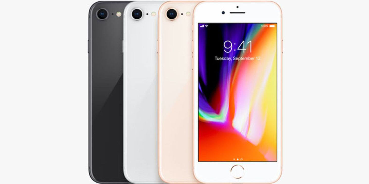 Lease the Apple iPhone 8 for $8 per month from Sprint