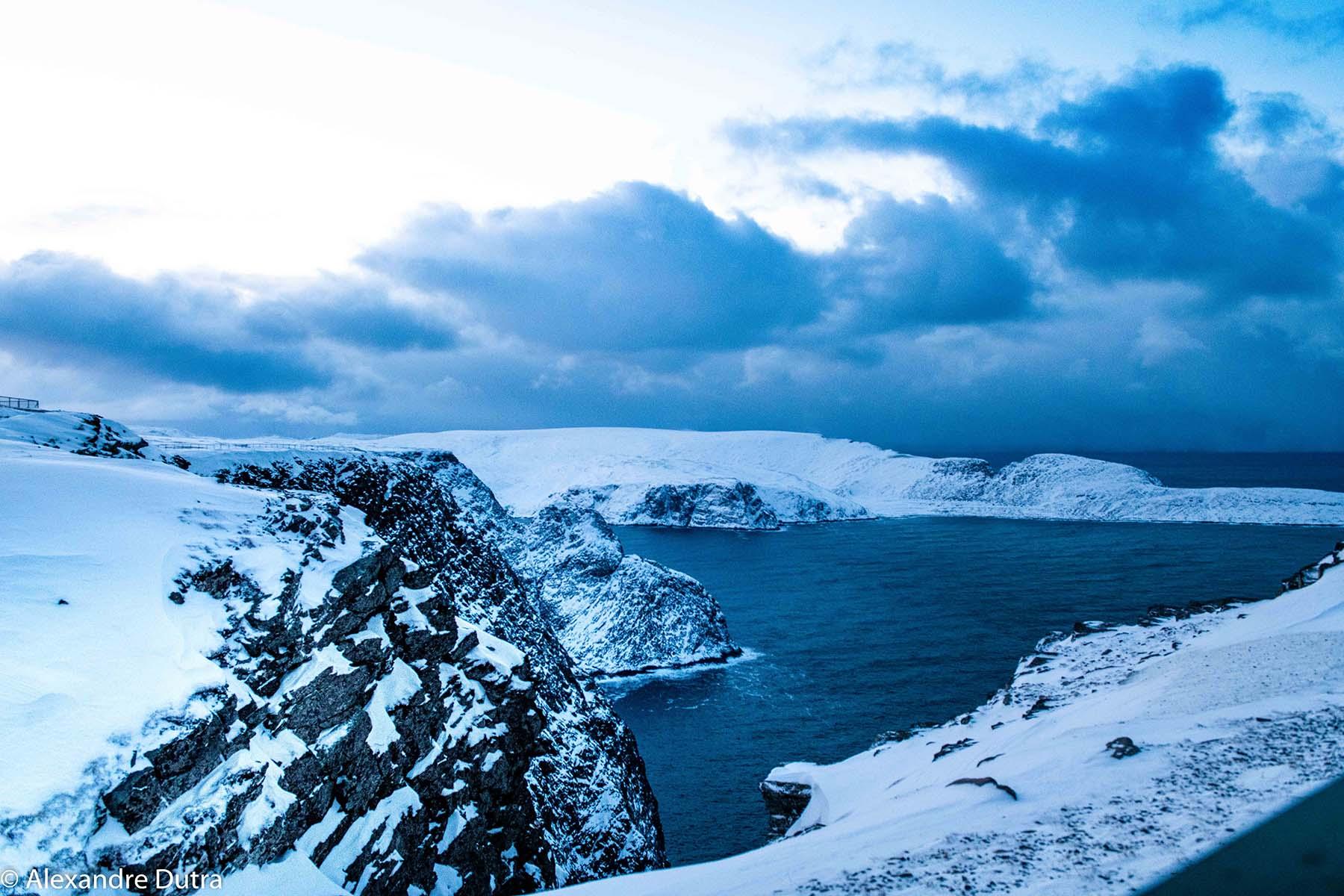 Nordkapp, Cabo Norte na Noruega, Lapônia