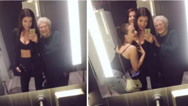 Viral, Nenek Gaul Jadi Anggota Geng Cewek-Cewek Kece