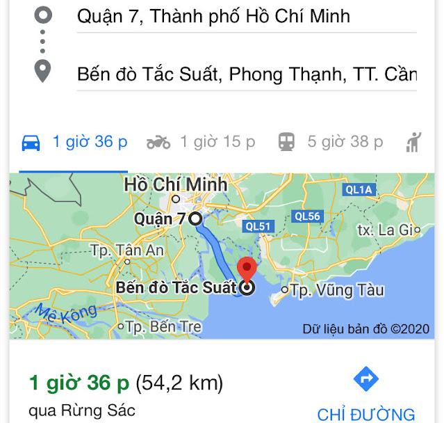 Quận 7 đi Vũng Tàu