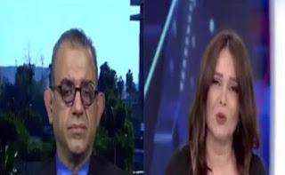 الإعلامية ميسون عزام تتعرض لموقف محرج بسبب محلل عراقي أمني