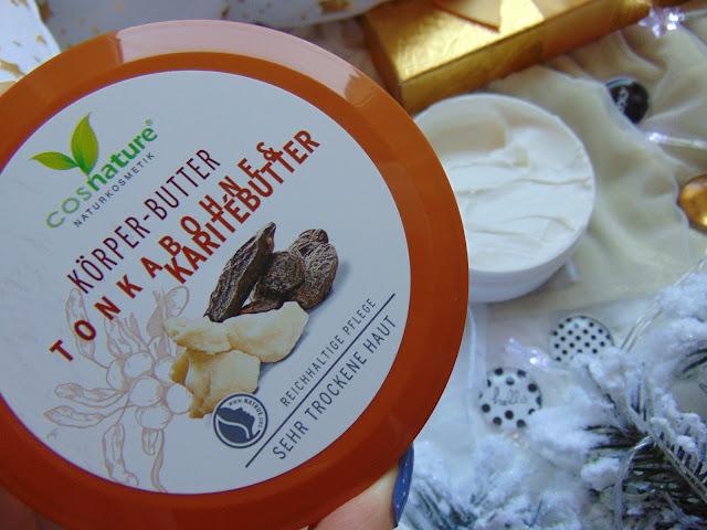 COSNATURE - Naturalne masło do ciała z masłem Shea - TONKABOHNE&KARITEBUTTER