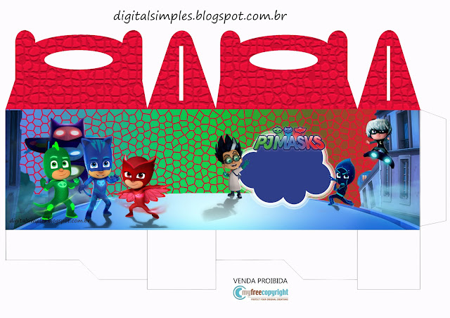 Pjmasks Free Printable Kit Oh My Fiesta In English