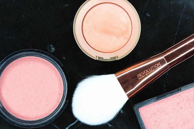 Top Best 3 Drugstore Blushes NYX Illuminator Chaotic Milani Baked Blush Luminoso Sleek Blush Rose Gold Blusher