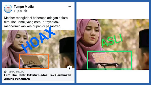 Gunakan Gambar Hasil Editan Salah Satu Adegan Film The Santri, Tempo Diprotes Netizen
