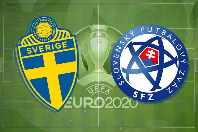 Sweden vs. Slovakia Live Euro 2020; Team News, Betting Odds, Prediction