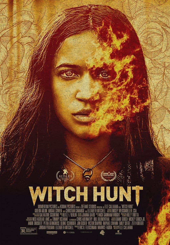 Momentum Pictures показала трейлер мистического хоррора Witch Hunt - Постер