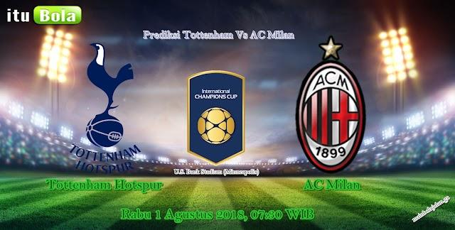 Prediksi Tottenham Vs AC Milan - ituBola