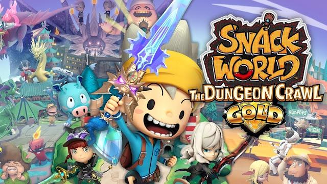 SNACK WORLD: The Dungeon Crawl - Gold (Switch) tem novo trailer de lançamento liberado