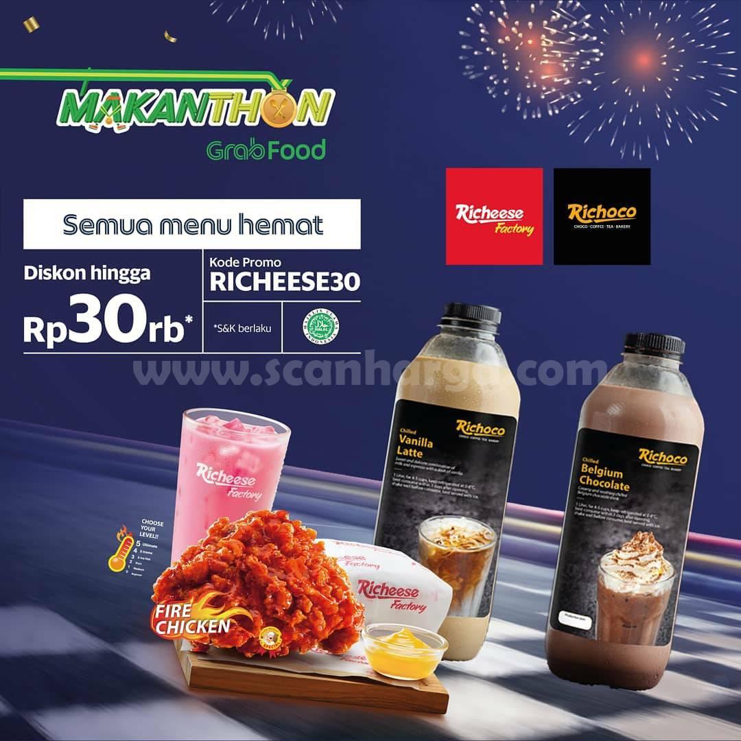 Promo Richoco Makanthon - Diskon Rp. 30.000 via Grabfood