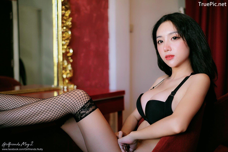 Image Thailand Model - Piyatida Rotjutharak - Black Lingerie - TruePic.net - Picture-9