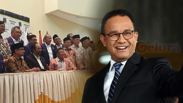 Merapat ke PKS, Nasdem Serius Calonkan Anies Baswedan di 2024