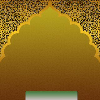 Gambar background poster ucapan tahun baru islam 1443 H PNG - kanalmu