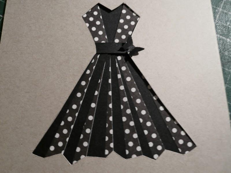 816ba2c21d4 Scrap et Carte  Carte robe de soirée !