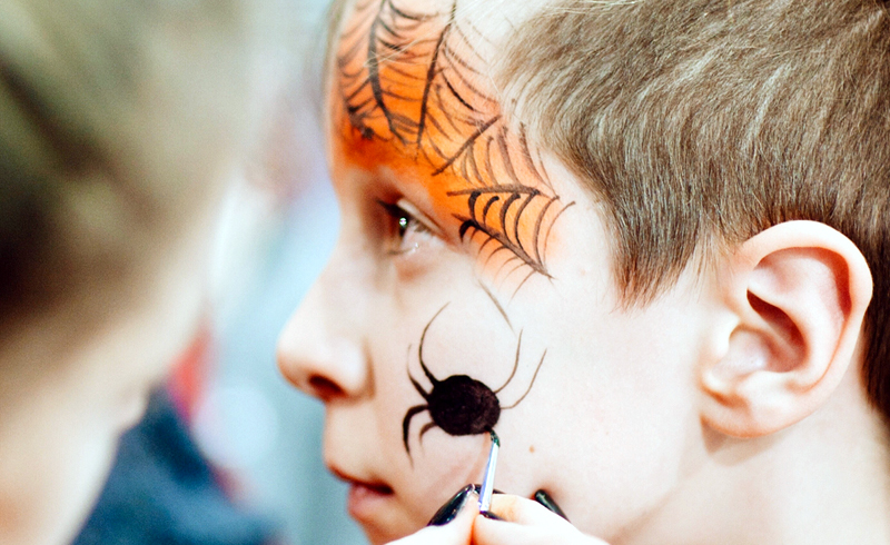 10 Halloween Face Paints to Make at Home