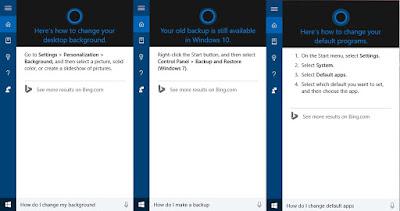 Gunakan Cortana untuk dukungan teknis